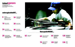 Urban Arts Table of Contents by live-without-borders