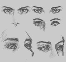 Fighting Frustrations #1 : Different Eye Angeles by Cedirvin