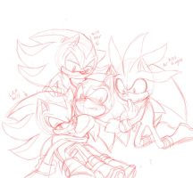 Too much love sketch by AngelofHapiness