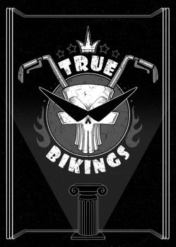 Treu BIKINGS_logo design by Lord-Dragon-Phoenix
