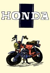 Honda Dax ST70 by argentinor