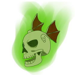 Spooktober Day 19 - Skull by TheHantaiCollection