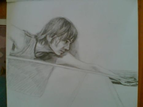 Nick from BRMC by pigletface