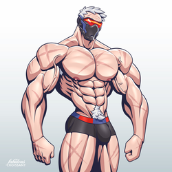 Overwatch: Soldier 76 by TheFabulousCroissant