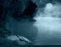 Premade BG Longing in the Night by E-DinaPhotoArt