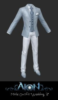 AION Male Outfit Wedding Style 3 by xCrofty
