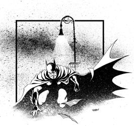 Batman Commission circa 2000 by LostonWallace