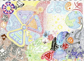 2009-01-27 Super Doodle by StoicLewy