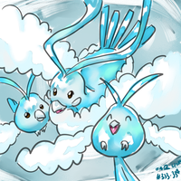 Swablu and Altaria by Remember2fly1