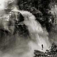 By the waterfall II by Pajunen