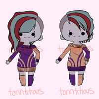 Halloween Twins [OPEN] by torintitious