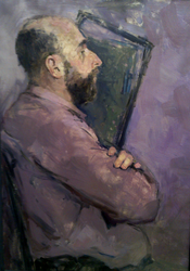 Portrait of man by vlakrisenko