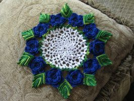 Rose Doily...OF DOOM, part 2. by xyr
