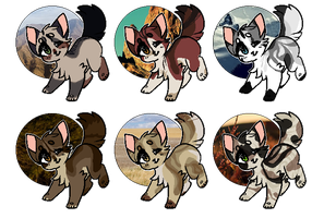 kitten point adoptables V [ 2/6 open ] by mimicht