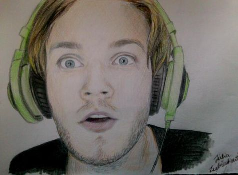 pewdiepie by BasketCaseA7X