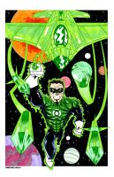 GREEN LANTERN COMMISSION marker by drawhard