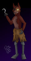 Foxy the Pirate -Anthro- by RiverBelle