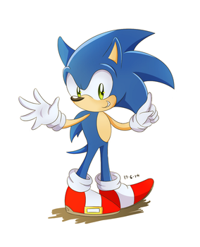 Sonic by Lucky-Sonic-77-d