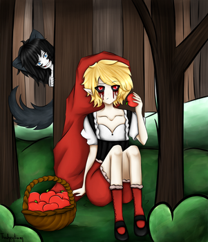  TROLL  Ben Red Riding Hood by Trahentium