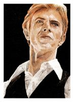 David  Bowie by MrPacinoHead