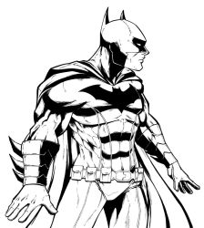 batman ink by salo-art