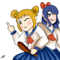 pipimi y popuko by ValeChY