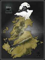 The Continent of Tellure by nvexio