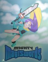 mighty magiswords vambre by ultimateEman