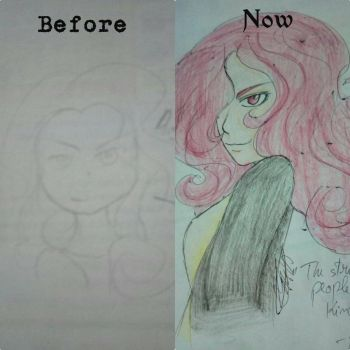 Redrawing my old art #2 by HomicidalThoughts