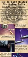 How-To: Custom Sculpting Tools 1 by BlackHoleInAJar