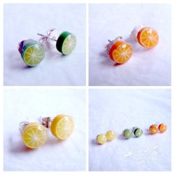 Fruit slice studs by caithness-shop