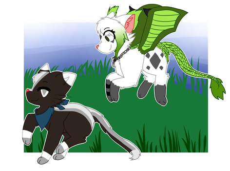Commission for Amour-Aigre-douce by CankeShy