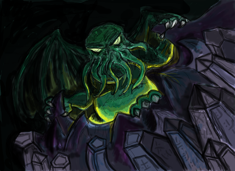 Great Cthulhu - Remade by FreakyM