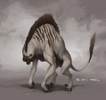 Monster No. 054 by Onehundred-Monsters
