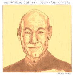Jean-Luc Picard by kinow