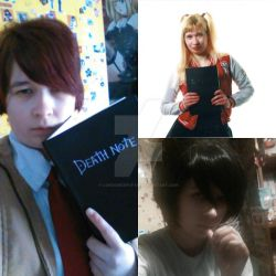 Death Note cosplays by Londonexpofan