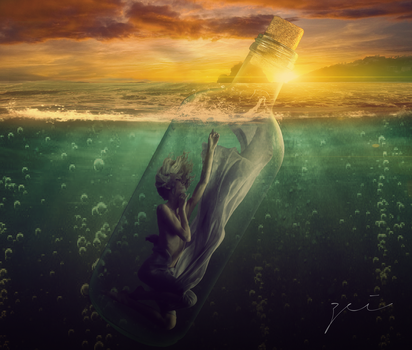 Message in a Bottle by zeiruch