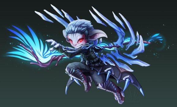 Asura Commission - SirRush by RinTheYordle
