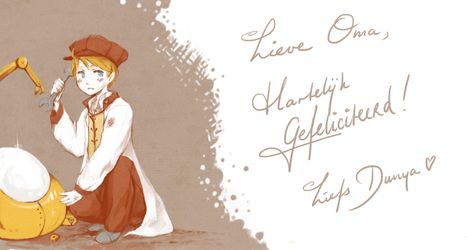hetalia - birthday pic by SilentSeven