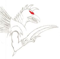 Gigan-Sketch(digitally edited) by Luke-113