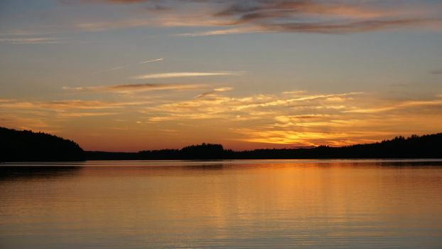 Maine Sunset 2 by NoxieStock