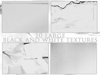 10  black and white textures by Kiho-chan