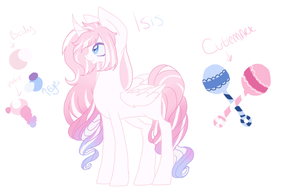 Princess Isis Ref by CitrusSkittles