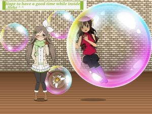 Inside Magical Bubble Chitose by sunnyDg