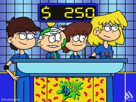 Loud House on Double Dare by DJgames