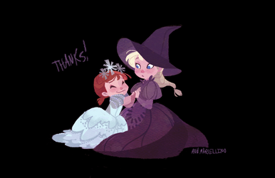 Witch Sisters by nna