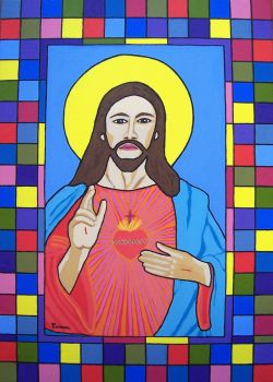 O SACRED HEART OF JESUS by wwwEAMONREILLYdotCOM