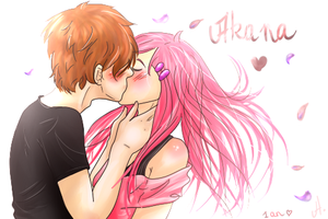 Akana kiss by Hane-no-hi
