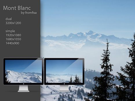 Mont Blanc by fromfisa