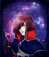 Capitan Harlock_ by ChichiriYuki